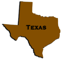 Map Texas delivery area for pond supplies