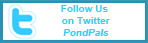 Follow PondPals on Twitter