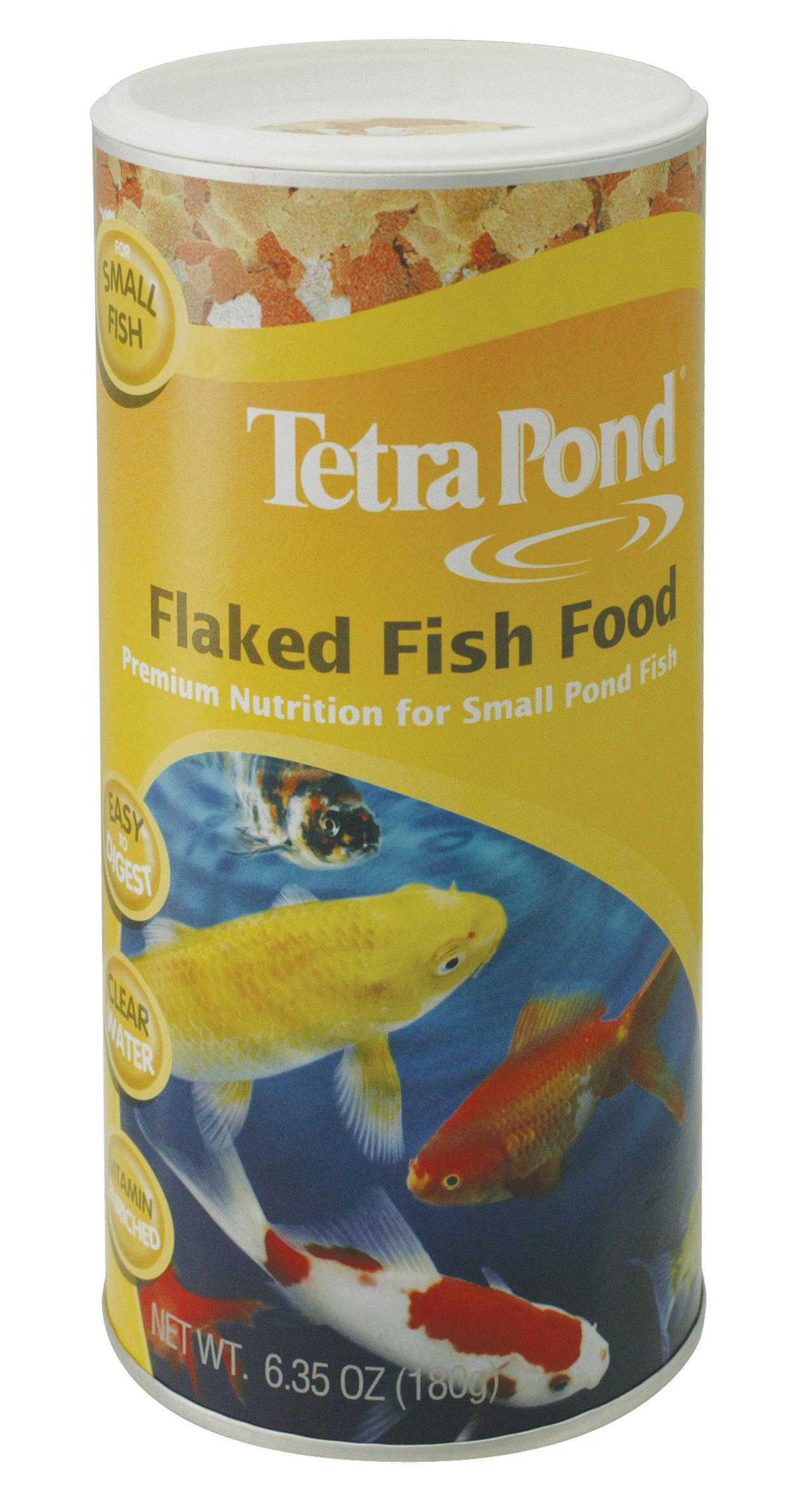 Tetra flaked pond fish food for Pond fish food
