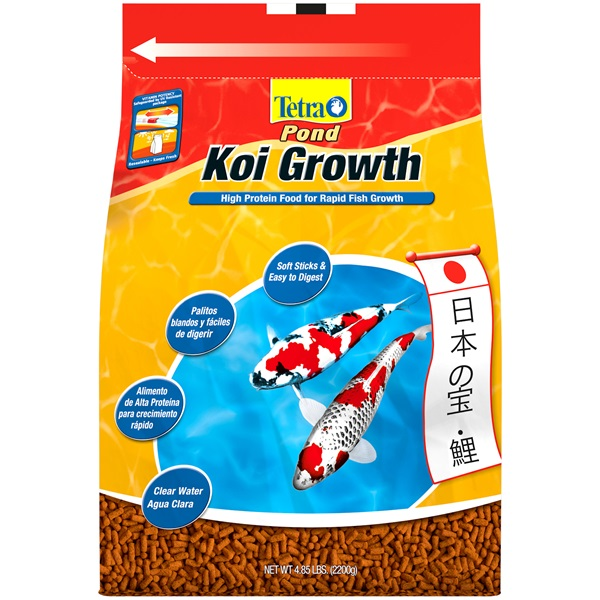 Tetrapond growth food for koi for Looking after koi