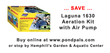 Laguna Aeration Air Pump on sale PondPals